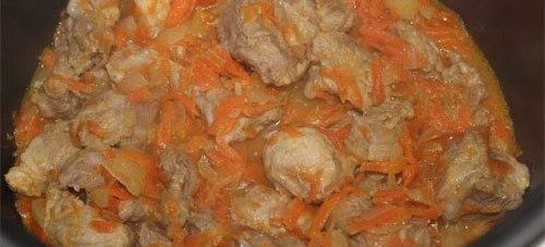Суп со свининой в мультиварке - фото шаг 3