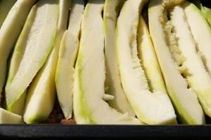 Лазанья из кабачков с фаршем - фото шаг 2
