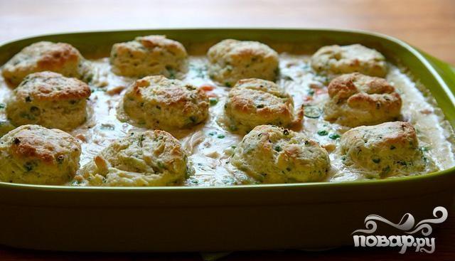 курица запеченная с овощами и сыром в духовке рецепт