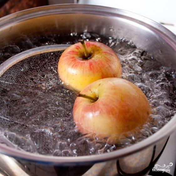 Бланшированные яблоки - фото шаг 5