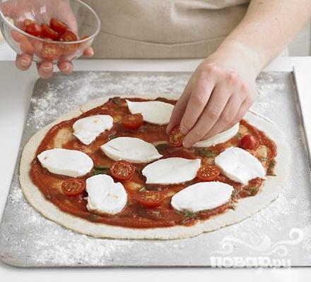 Пицца Маргарита - фото шаг 4