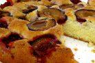 Пирог сливовый
