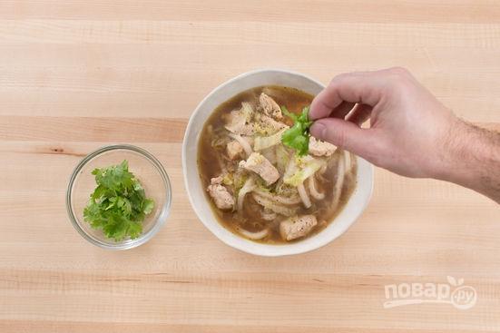 Гороховый суп из куриной грудки рецепт с фото