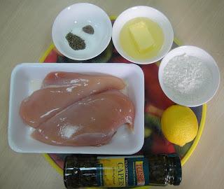 Рецепт Куриная пиката