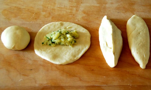 Картофельные пироги в духовке рецепт пошагово