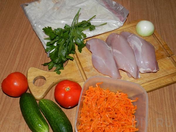 Рецепт Армянская шаурма