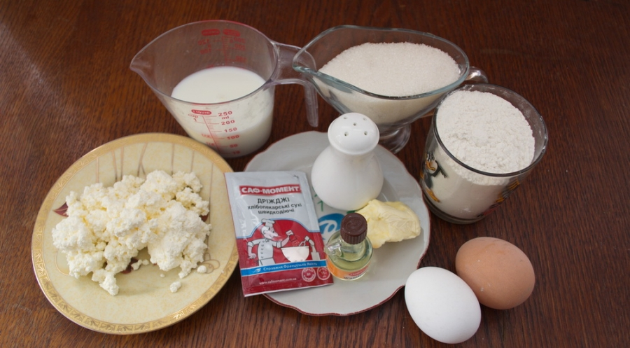Кулич творожный в хлебопечке - фото шаг 1