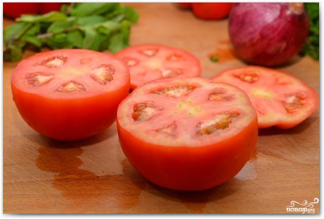 Фаршированные перцы и помидоры - фото шаг 2