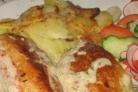 Рыбные фрикадельки в сметанном соусе