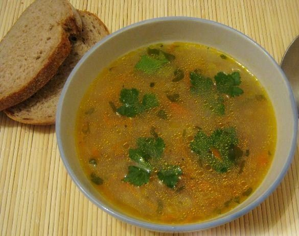 суп с сушеными грибами и курицей и лапшой рецепт