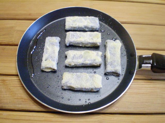 Вегетарианская жареная рыба - фото шаг 11