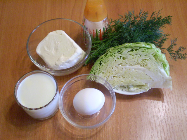 Рецепт Капустный омлет