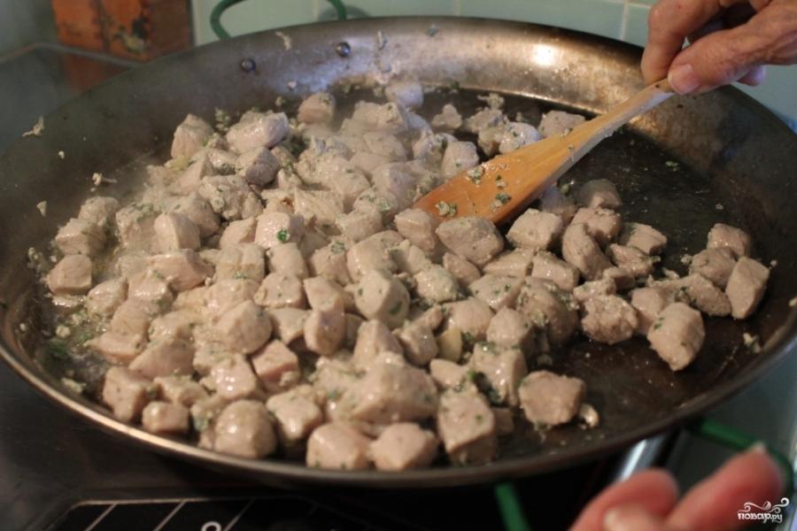 Паэлья со свининой - фото шаг 1