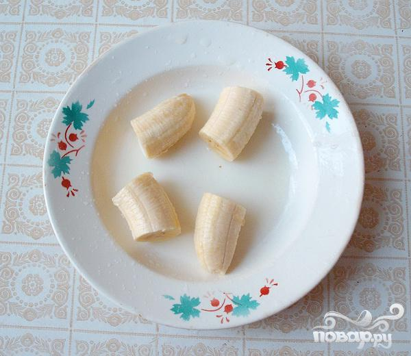 Жареные в кляре бананы - фото шаг 2