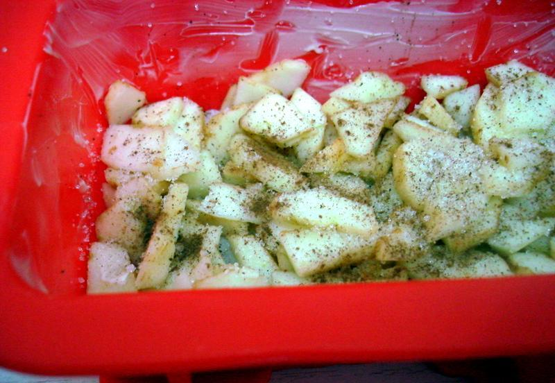 Рисовая запеканка с яблоками - фото шаг 6