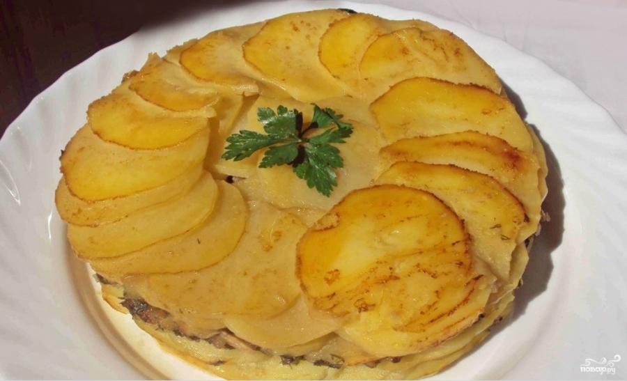 Картофельный пирог в духовке - фото шаг 3