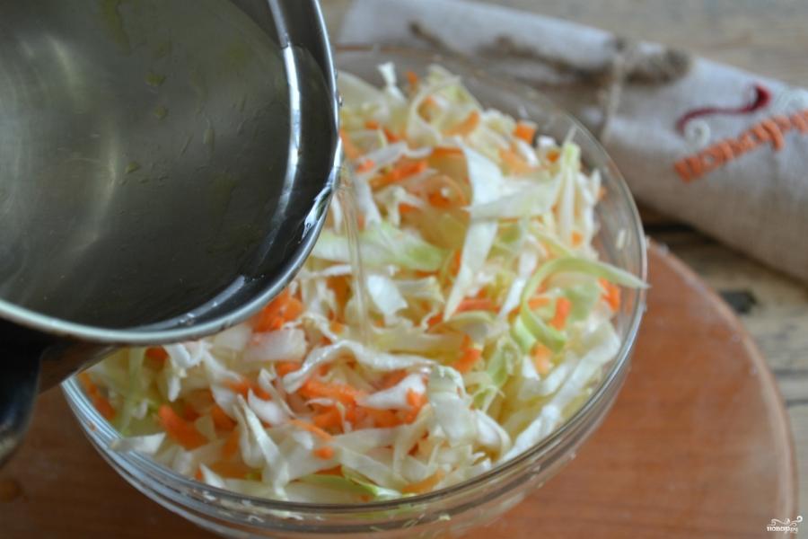 Маринованная сладкая капуста - фото шаг 9