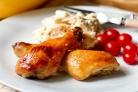 Куриные ножки в медовом соусе