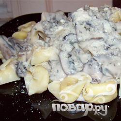 Рецепт Сказочные пельмени с грибами Портобелло