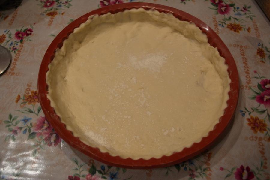 Рецепт Пирог с курицей и кабачком