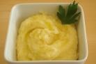 Картофельное пюре (с чесноком)