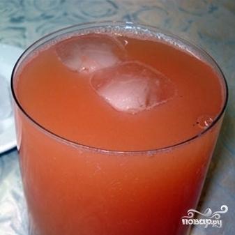 Грейпфрутовый фреш - фото шаг 3