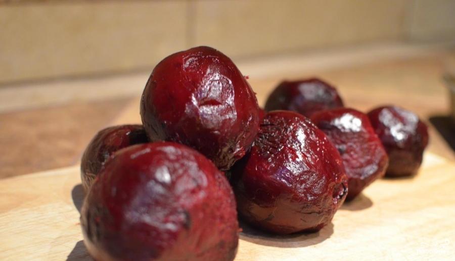 Рецепт Салат из свеклы на зиму