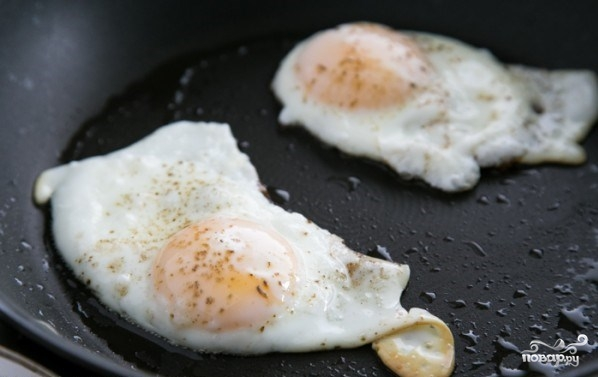 Бутерброды на завтрак - фото шаг 3