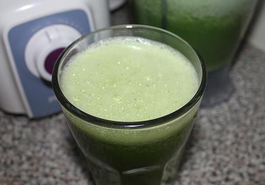Коктейль из зелени - фото шаг 5