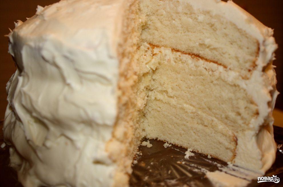 Торт из сметаны классический