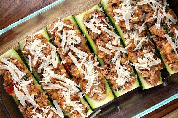 Видео фаршированные кабачки с фаршем запеченные в духовке рецепт с фото