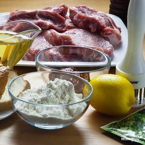 Рецепт Свинина в панировке