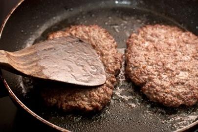 Бургер с ветчиной - фото шаг 3