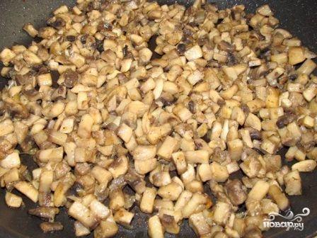 Картофельная запеканка с шампиньонами - фото шаг 5