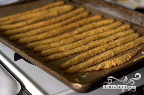 Сырные палочки из острого сыра - фото шаг 3