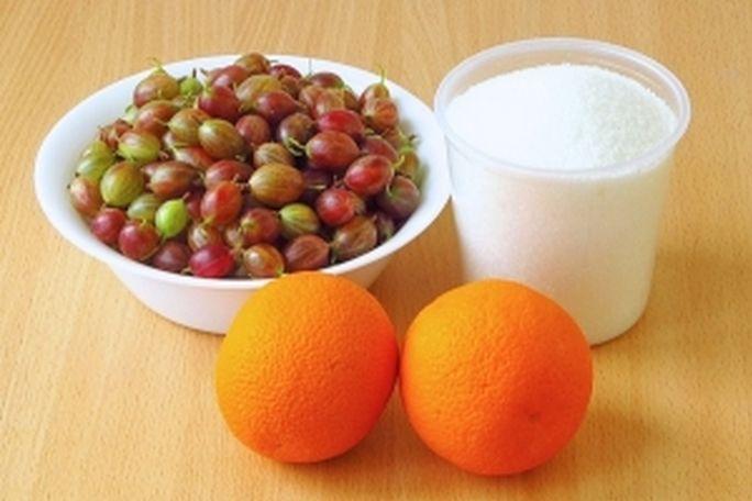 Рецепт Варенье из крыжовника с апельсином