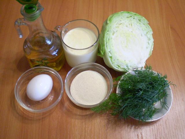 Рецепт Капустные оладьи с манкой