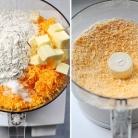 Рецепт Сырные крекеры-рыбки