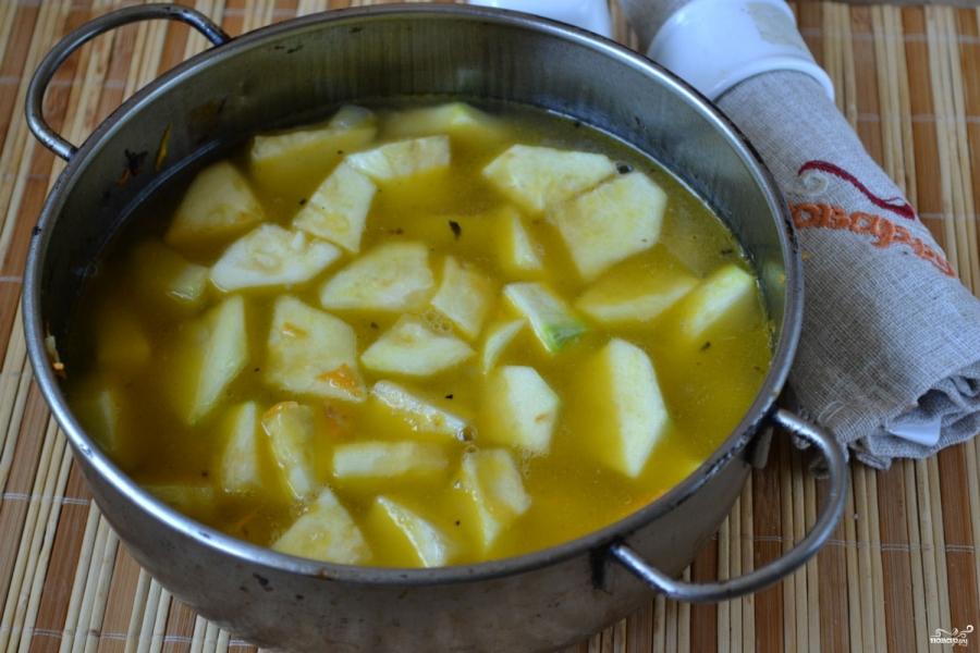 Суп из кабачков с сыром рецепты быстро и вкусно