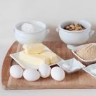 Рецепт Ореховый торт с кленовым кремом