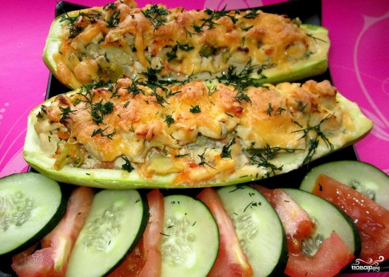 рецепт из брокколи в духовке с фото