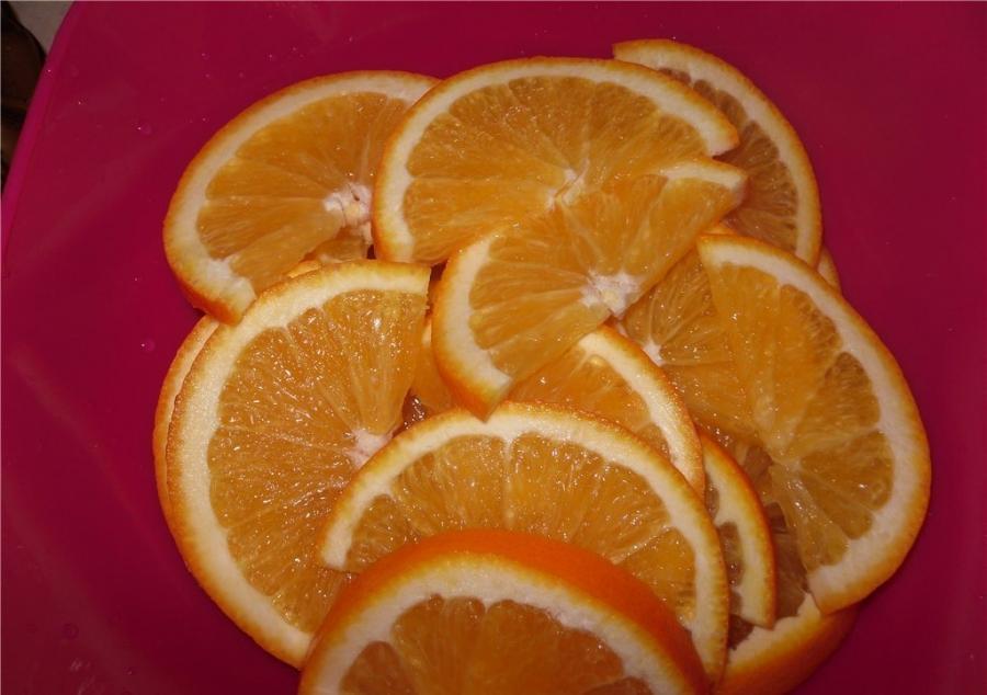 Курица с апельсинами - фото шаг 3