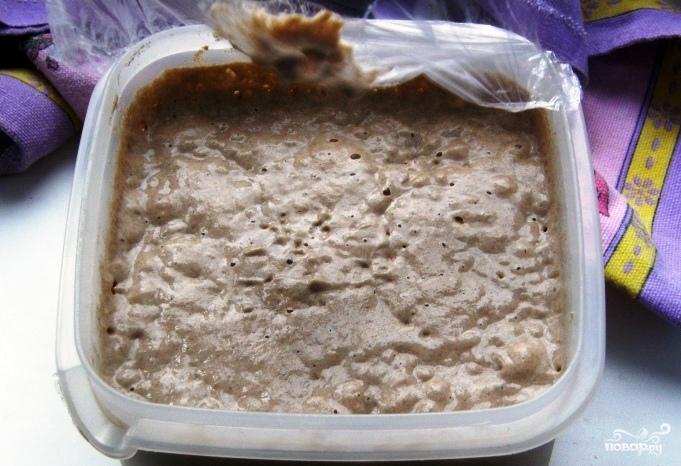 Закваска для ржаного хлеба - фото шаг 5