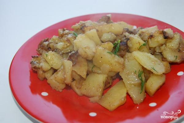 Гарнир из картошки в мультиварке - фото шаг 6