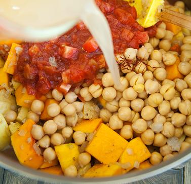 Рагу из тыквы с овощами - фото шаг 5