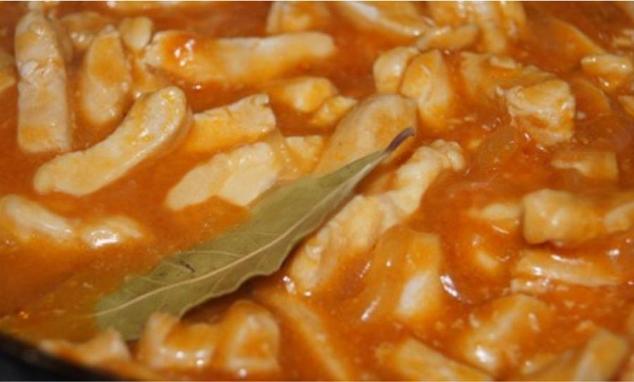 рецепт гуляша из куриного филе с подливкой