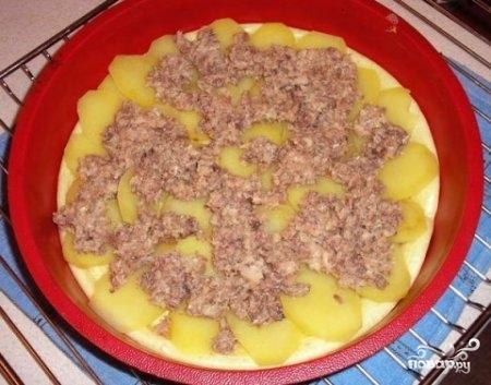 Быстрый пирог на майонезе - фото шаг 3