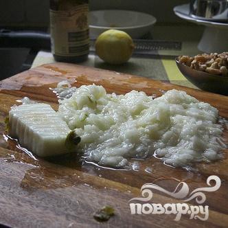 Грушевый хлеб с орехами и клюквой - фото шаг 1