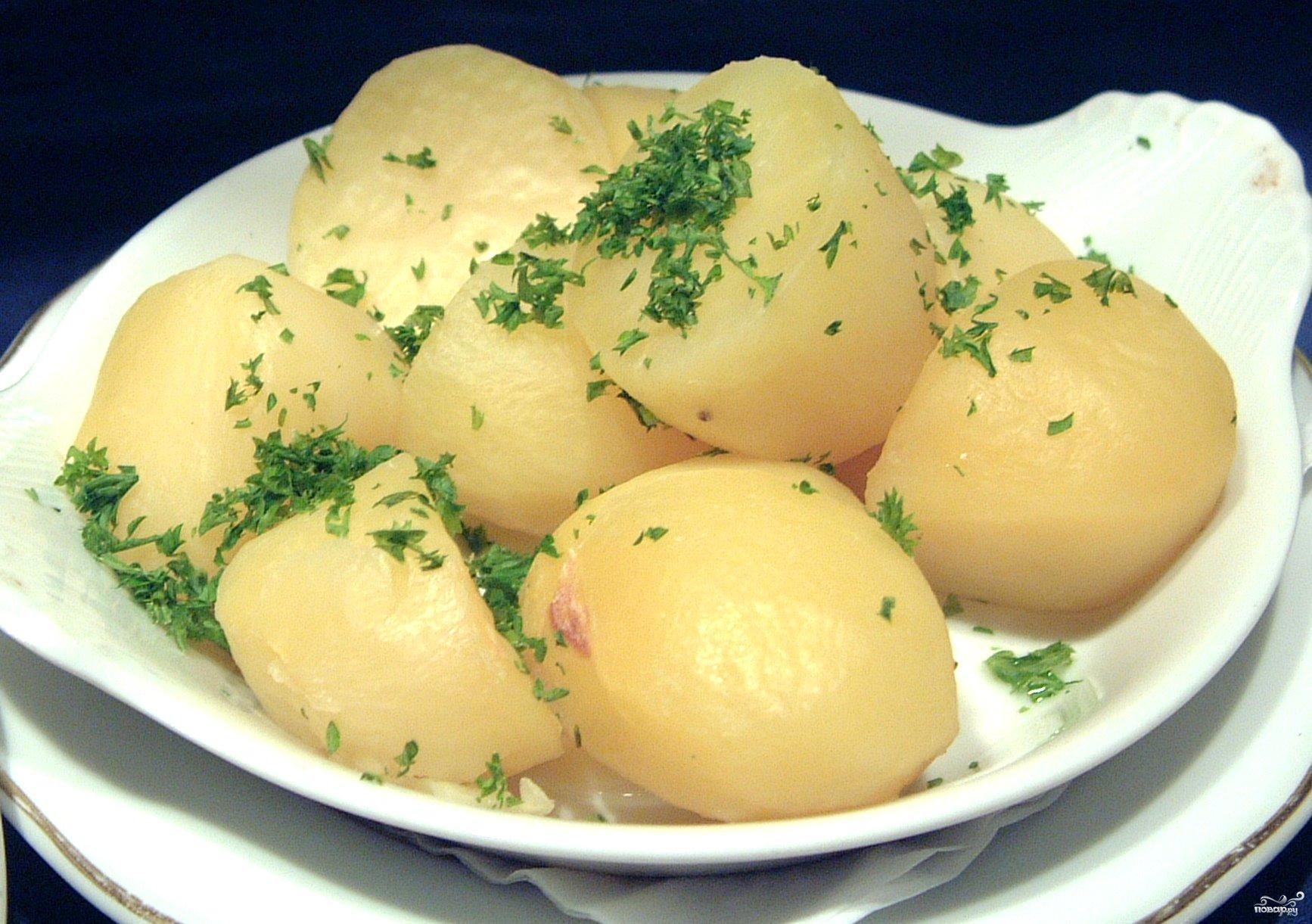 Рецепт Картофель отварной