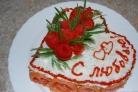 Закусочный торт из слоеного теста